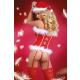 Livia Corsetti Snowprinces Damen Dessous-Set in raffiniertem Weihnachts-Design