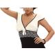 DONNA Andrea Damen Kurzarm-Nachthemd mit eleganter Spitze