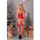 Livia Corsetti Limpid Damen Body-Strümpfe-Haarreif in Weihnachts-Design, mit Satin-Augenbinde