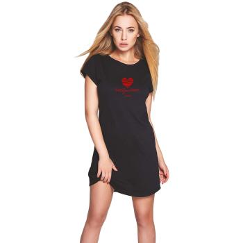 S& SENSIS  Hug  Baumwoll-Nachthemd Sleepshirt, made...