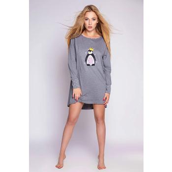 S& SENSIS  Pinguino  Baumwoll-Nachthemd Sleepshirt, made in EU