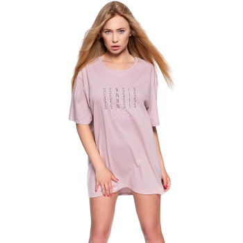 S& SENSIS Nessa Baumwoll-Nachthemd Sleepshirt, made...
