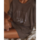 S& SENSIS Sadie Baumwoll-Nachthemd Sleepshirt, made in EU