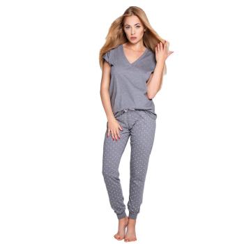 S& SENSIS edler Baumwoll-Pyjama/ Hausanzug Anabell,...