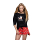 S& SENSIS edler Baumwoll-Pyjama/ Hausanzug/ Shorty Cupid, made in EU
