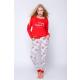 S& SENSIS Damen Baumwoll-Pyjama/ Hausanzug Gifti