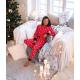 S& SENSIS Damen Baumwoll-Pyjama/ Hausanzug Saetta