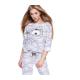 S& SENSIS Baumwoll-Pyjama Schlafanzug Hazsanzug Ambrell, made in EU