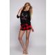 S& SENSIS Nachtwäsche-Set Shorty Pyjama Schlafanzug Hausanzug Dancer, made in EU