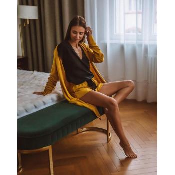 S& SENSIS Susan Damen Baumwoll-Pyjama Shorty