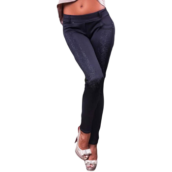 GEPUR 5871 Damen Leggings/Stretch Hose in trendigem...
