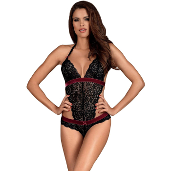Obsessive Rossita Damen Dessous-Set aus Body &...