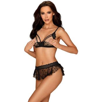 Obsessive Damen Unterwäsche-Set Heartia mit...