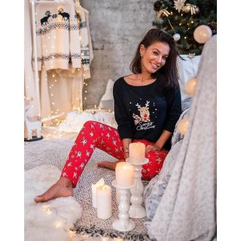 S& SENSIS Schianto Damen Baumwoll-Pyjama (Made in EU)