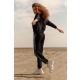 GEPUR 36120 trendiger Damen Trainingsanzug Hausanzug mit Kapuze