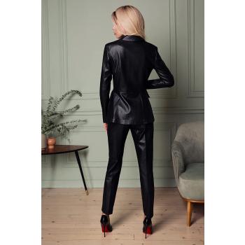 GEPUR 30191 trendiger Damen Jacket aus weichem Kunstleder
