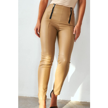 GEPUR 37657 Damen Leggings aus hochwertigem Kunstleder
