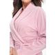 DOROTA FR291 Damen Bademantel mit Taschen & Bindeband