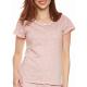 Moonline nightwear Marba Damen  Shorty, mit weicher Baumwolle