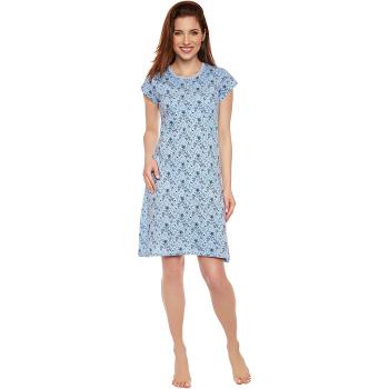 Moonline nightwear Michaela Damen Nachthemd, aus 100%...