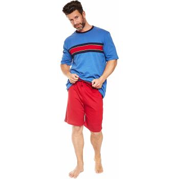 Moonline nightwear Nemoli Herren Shorty, aus 100% Baumwolle