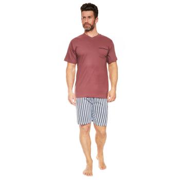Moonline nightwear Manuel Herren Shorty, aus 100% Baumwolle