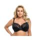 Gorsenia lingerie K378 Damen Spitzen-BH große Größen mit Wäschenetz