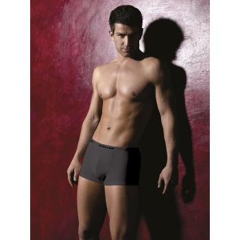 PIGEON Lingerie Carlos hochwertige Marken-Unterwäsche Herren-Boxershorts mit Beschriftung in Kontrastfarbe in toller Geschenkbox