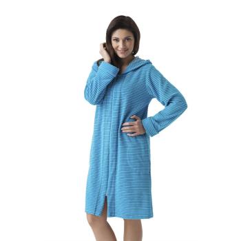 DOROTA FR104 Damen Bademantel mit Taschen,...
