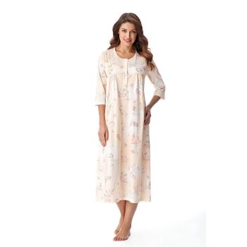 DOROTA elegantes langes Damen-Nachthemd Stillnachthemd...