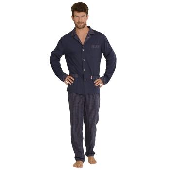 FOREX Lingerie edler Herren-Pyjama aus 100% Baumwolle...