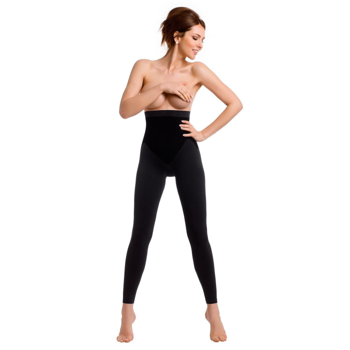 TESPOL sehr hochwertige figurformende Damen-Shaping-Leggings seamless made in Italy