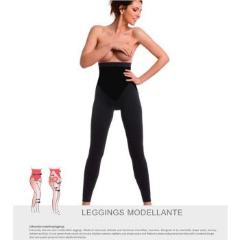 TESPOL sehr hochwertige figurformende Damen-Shaping-Leggings seamless made in Italy