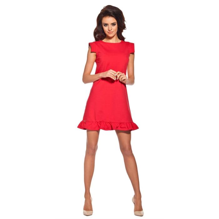 3a4cb79905e419 ... Lemoniade extravagantes Kleid mit ausgefallenen, kurzen Ärmeln und  romantischen Rüschen-Saum ...