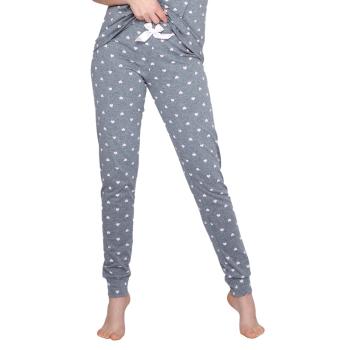 S& SENSIS Baumwoll-Pyjama Cristine (Made in EU) Schlafanzug Hausanzug