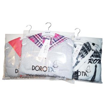 DOROTA kuscheliger und moderner Baumwoll-Bademantel mit Taschen, Reißverschluss & Kapuze
