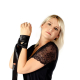 Obsessive Damen Ouvert-Body Musca mit Satin-Augenbinde